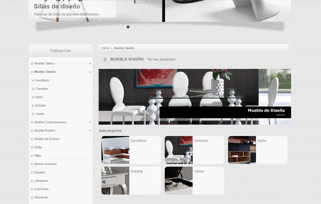 Amunidex dise o y desarrollo de p ginas web icono for Paginas de interiorismo