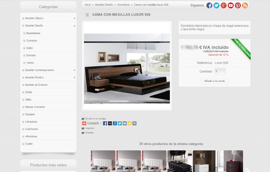 Amunidex dise o y desarrollo de p ginas web icono - Paginas de interiorismo ...
