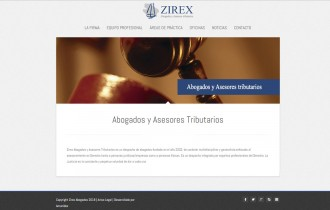 Zirex Abogados – Web