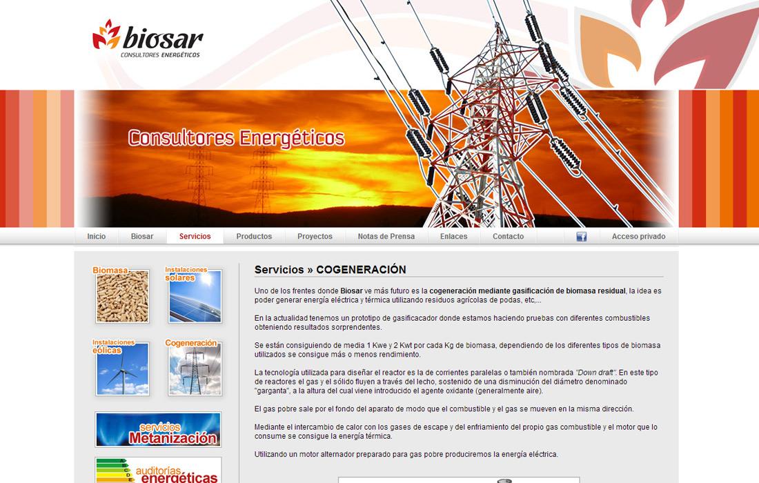 Web Biosar
