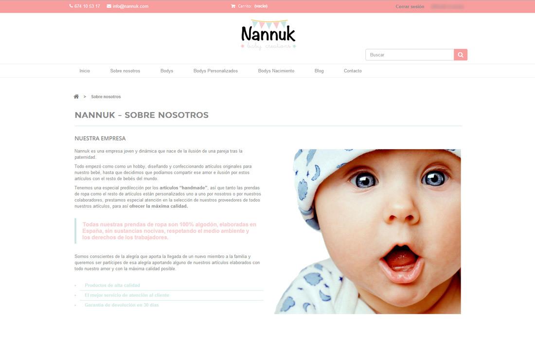 Tienda onlne Nannuk